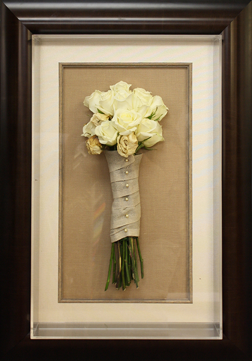 weve framed wedding dresses bridal bouquets ketubahs and invitations if you cant seem to choose a wedding collage is always a favorite